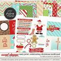 Easy Print: Celebrating Christmas - Traditional by Digital Scrapbook Ingredients