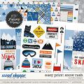 Easy Print: Snow Rush by lliella designs