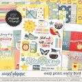 Easy Print: Early Bird by lliella designs
