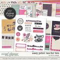 Easy Print: Tea For Two by Red Ivy Design