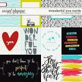 Wonderful You Cards by Studio Basic