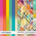 Playdate - bonus papers by Amanda Yi & WendyP Designs
