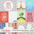 Around the world: France - Cards by Amanda Yi & WendyP Designs