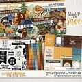 Go Explore Bundle by Digital Scrapbook Ingredients