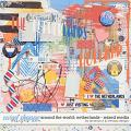 Around the world: Netherlands - Mixed Media by Amanda Yi & WendyP Designs