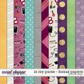 In My Purse - Bonus Papers by Red Ivy Design
