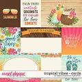 Tropical Vibes | Cards by Digital Scrapbook Ingredients