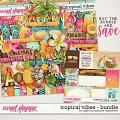 Tropical Vibes Bundle by Digital Scrapbook Ingredients