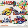 Bounce : Word Art by Meagan's Creations