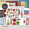 Easy Print Around the world: Canada by Amanda Yi & WendyP Designs