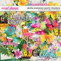 Aloha Summer Party Clusters by Studio Basic and et designs