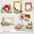 Zoobilee {Farm} : Clusters by Meagan's Creations