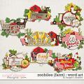 Zoobilee {Farm} : Word Art by Meagan's Creations