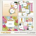 Summer Adventures Vol. 2 : Templates by Meagan's Creations