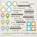 Around the world: Thailand - Stickers by Amanda Yi & WendyP Designs