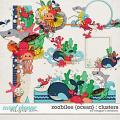 Zoobilee {Ocean} : Clusters by Meagan's Creations