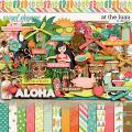 At The Luau by LJS Designs