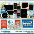 Cindy's Layered Templates - Double the Memories: July by Cindy Schneider