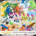 Around the world: Brazil - Mixed Media by Amanda Yi & WendyP Designs