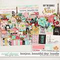 Bonjour, Beautiful Day Bundle by Brook Magee and Studio Basic Designs