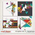 Tri Again Vol. 2 : Templates by Meagan's Creations