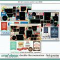 Cindy's Layered Templates - Double the Memories 3rd Quarter Bundle by Cindy Schneider