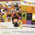 I Heart Halloween: Kids Bundle by Grace Lee and Kelly Bang Creative