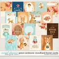 Great Outdoors: Woodland Forest Cards by Kristin Cronin-Barrow