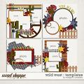Wild West : Templates by Meagan's Creations