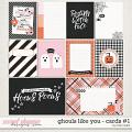 Ghouls Like You: Journal Cards #1 by Traci Reed