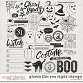 Ghouls Like You: Digital Stamps by Traci Reed