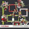 Christmas Cheer : Clusters by Meagan's Creations
