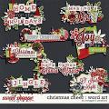 Christmas Cheer : Word Art by Meagan's Creations
