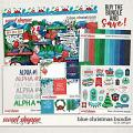 Blue Christmas Bundle by LJS Designs