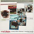 Brook's Templates - A Merry Little Christmas - Template Bundle by Brook Magee
