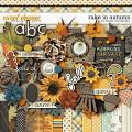 Rake In Autumn by Dream Big Designs