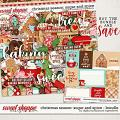 Christmas Season: Sugar and Spice bundle by Digital Scrapbook Ingredients