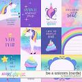 Be a Unicorn {cards} by Blagovesta Gosheva