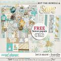 Let It Snow - Bundle by Red Ivy Design