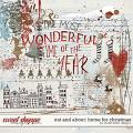 Out and About: Home For Christmas Overlays by Studio Basic Designs