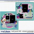 Cindy's Layered Templates - Half Pack 245: Winter Princess by Cindy Schneider