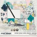 Write Your Own Story: Extras by River Rose Designs