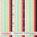 Happy Hearts: Papers by River Rose Designs