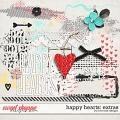 Happy Hearts: Extras by River Rose Designs