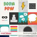 Boom Pow: Cards by Amanda Yi