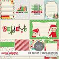 Elf Antics Journal Cards by Ponytails