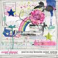 You're My Favorite Color: Extras by River Rose Designs