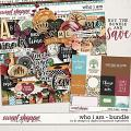 Who I Am Bundle by LJS Designs & Digital Scrapbook Ingredients
