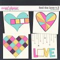 Feel the Love v.2 Templates by Erica Zane