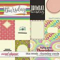 This Week: Thursday Cards by Amanda Yi & Meagan's Creations